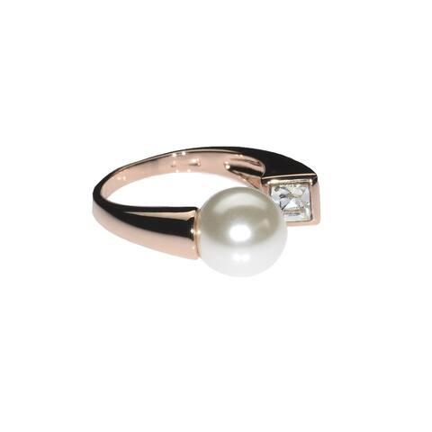 Diamonds & Pearls Ring