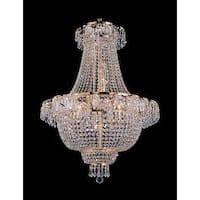 Swarovski Crystal Trimmed Chandelier Lighting French Empire Crystal