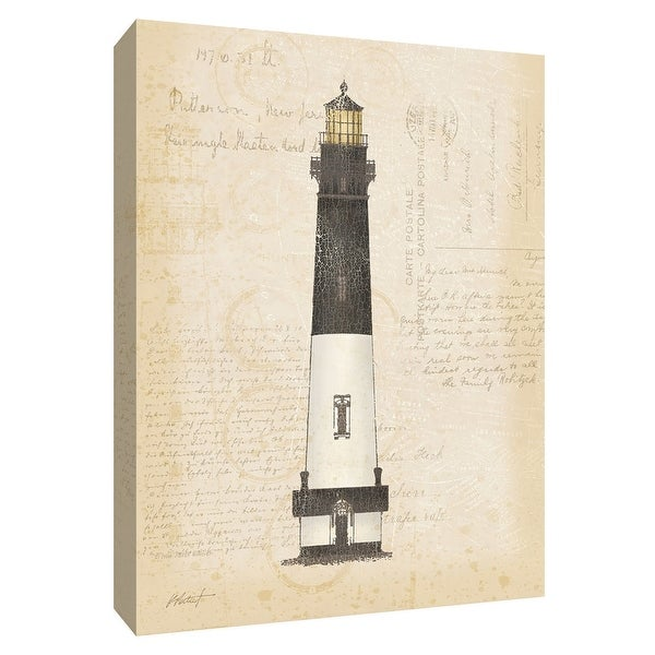 """PTM Images 9-154778 PTM Canvas Collection 10"""" x 8"""" - """"Coastal Light IV"""" Giclee Lighthouses Art Print on Canvas"""