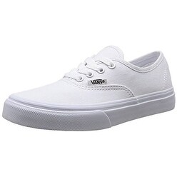 Vans Kids Unisex Authentic Core (Toddler) True White Sneaker 5.5 Toddler M