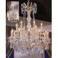 Maria Theresa Crystal Chandelier Lighting H30x W28 - Thumbnail 0