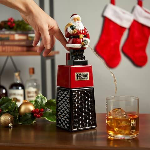 """Santa Claus Liquor Dispenser - 12.5"""" x 3"""""""