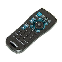 OEM Alpine Remote Control Originally Shipped With: IVAW505, IVA-W505, IVANAV10, IVA-NAV10, TMEM740BT, TME-M740BT