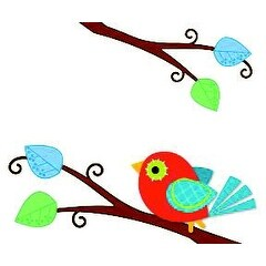 Carson-Dellosa Boho Birds Name Tag, Pack of 40