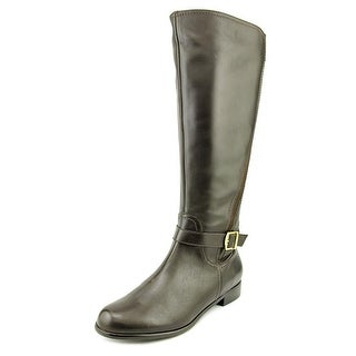 Rose Petals by Walking Cradles Tessla-W Round Toe Leather Knee High Boot