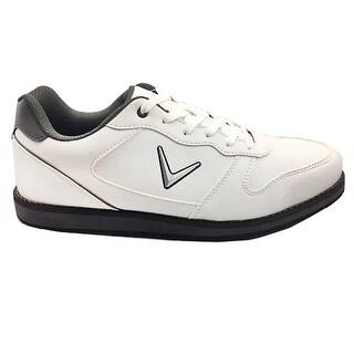 Callaway Seaside Spikeless Golf Shoe - White