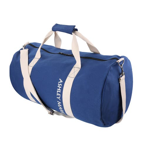 Canvas Sports Utility Gym Yoga Travel Luggage Spacious Duffel Bag