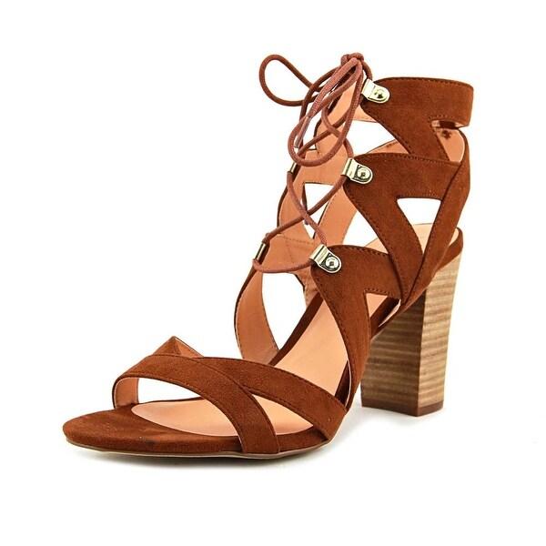 XOXO Barnie Women Open Toe Synthetic Tan Sandals