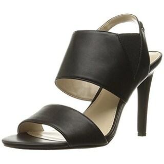 Calvin Klein Womens Safari Leather Dress Sandals - 8.5 medium (b,m)