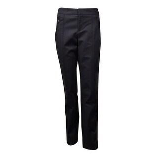 INC International Concepts Women's Seam Regular Straight Pants