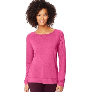 Hanes Women's Fashion Essentials Raglan V-Notch Tee