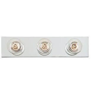 "Westinghouse 66406 3-Lights Bathroom Bar Fixture, 18"" x 4.5"""