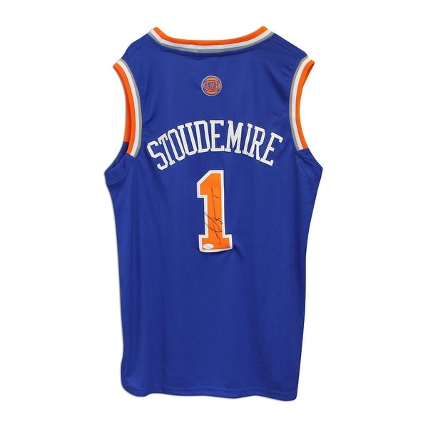 6ee62224d71a Shop Amar e Stoudemire New York Knicks Autographed Blue Adidas Jersey -  Free Shipping Today - Overstock.com - 12783648