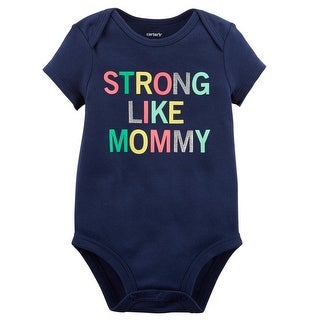 Carter's Baby Girls' Strong Like Mommy Collectible Bodysuit