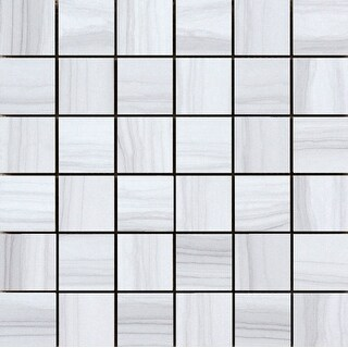 Emser Tile F02ARCH1212MOP  Archive - Square Mosaic Floor and Wall Tile - Polished Marble Visual