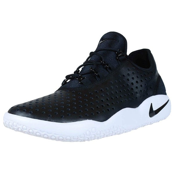 Shop Nike Mens FL Rue Leather Low Top Lace Up Running