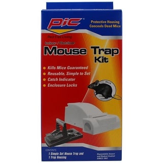 Pic MTK Mouse Trap Kit, Simple Set