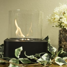 Sunnydaze Cilindro Ventless Tabletop Bio Ethanol Fireplace