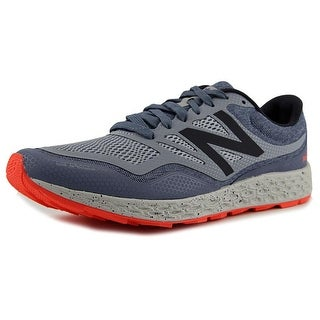 New Balance MTGOB Men  Round Toe Synthetic Blue Trail Running