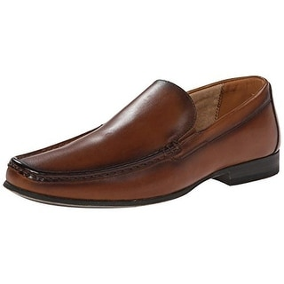 Steve Madden Mens Wynsor Leather Slip On Loafers