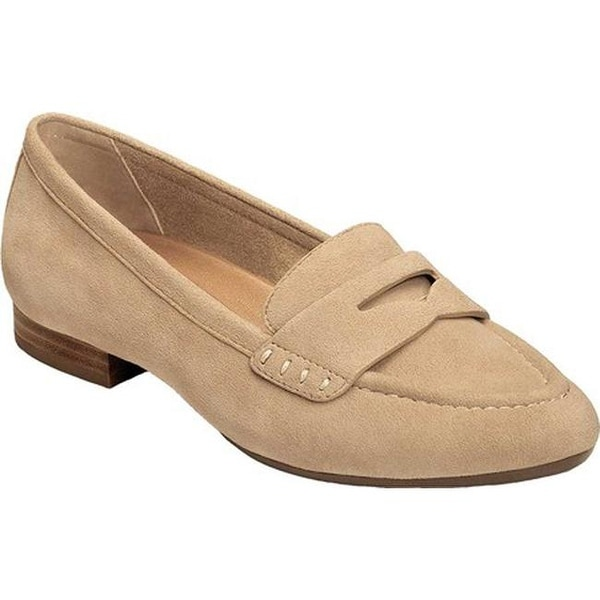 Shop Aerosoles Women's Map Out Penny Loafer Light Tan ...