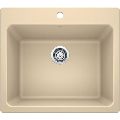 """Blanco 40192 Liven 25"""" Single Basin Silgranit Laundry Sink for Drop In / Undermount Installations"""