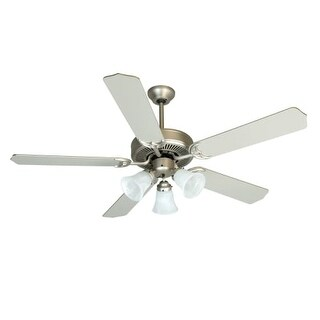 "Craftmade K10422 CD Unipack 205 52"" 5 Blade Indoor Ceiling Fan - Blades and Light Kit Included"