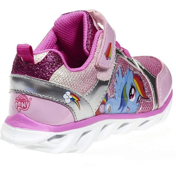 Rainbow Dash Pink Sneakers Girls