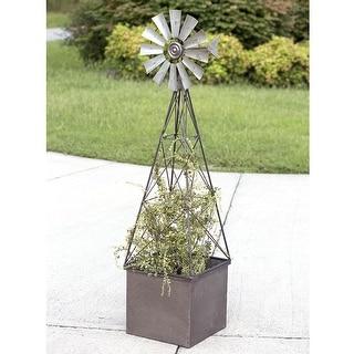 Large Windmill Planter