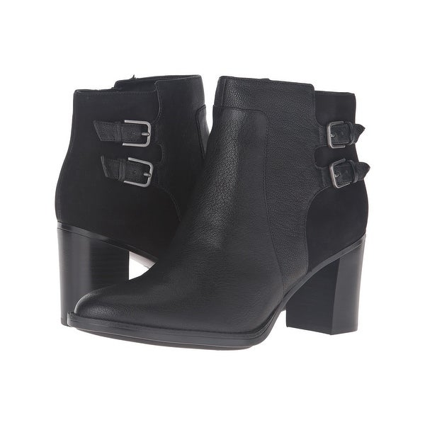 Naturalizer Womens falza Almond Toe Ankle Fashion Boots - 8
