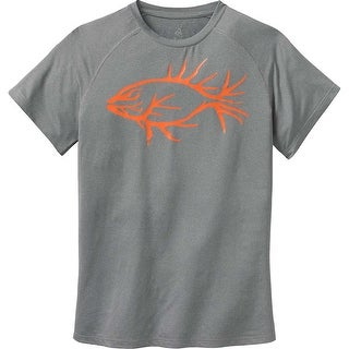 Legendary Whitetails Men's Legendary Antler Fish Performance T-Shirt