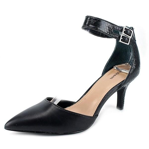 Style & Co Wandah Women Pointed Toe Synthetic Black Heels