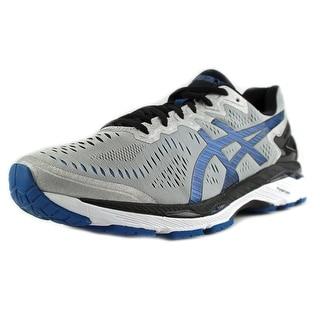 Asics Gel-Kayano 23 2E Round Toe Synthetic Running Shoe