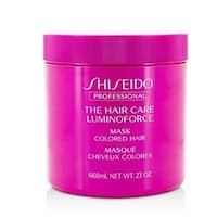 Shiseido 206744 23 oz The Hair Care Luminoforce Mask for Colored Hair