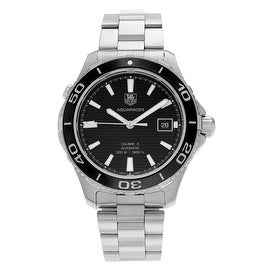 Tag Heuer Men's 'Aquaracer' WAK2110.BA0830 Stainless Steel Automatic Bracelet Watch