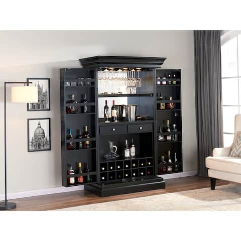 The Ashton Home Bar and Wine Cabinet