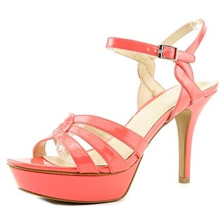 Vince Camuto Princey Women Open Toe Synthetic Pink Platform Sandal