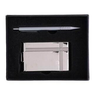 CTM® Business Card Holder and Pen Gift Set - One size