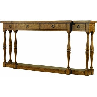 """Hooker Furniture 3001-85001  72"""" Long Hardwood Console Table from the Sanctuary Collection - Drift"""
