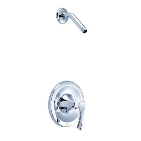 Antioch 1H Shower Only Trim Kit & Treysta Cartridge Less Showerhead Chrome