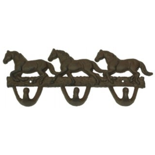 Cast Iron Horse Hook Rust 10 Pieces