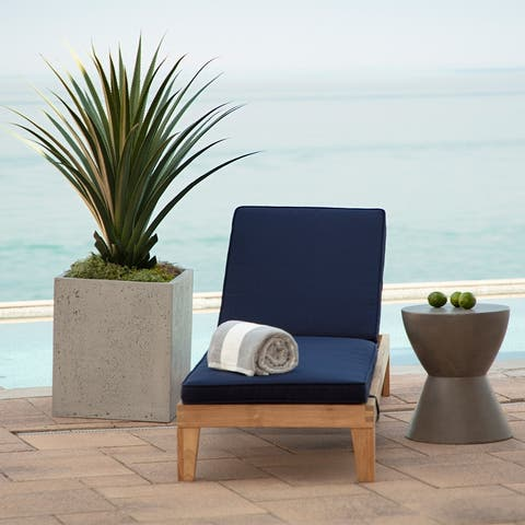 Arden Selections Oasis Outdoor Chaise Cushion