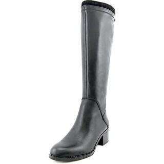 Franco Sarto Lithium Women Round Toe Leather Knee High Boot