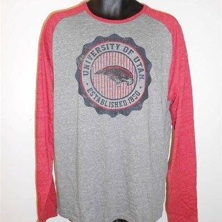 University Of Utah Utes Adult Mens Sizes S M L XL Long Sleeve Adidas Shirt