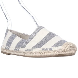 1.4.3 Girl Island Flat Espadrilles - Navy/White Stripe|https://ak1.ostkcdn.com/images/products/is/images/direct/ee55b16725be43c064a9c071934c2f9b7b512864/1.4.3-Girl-Island-Flat-Espadrilles---Navy-White-Stripe.jpg?impolicy=medium