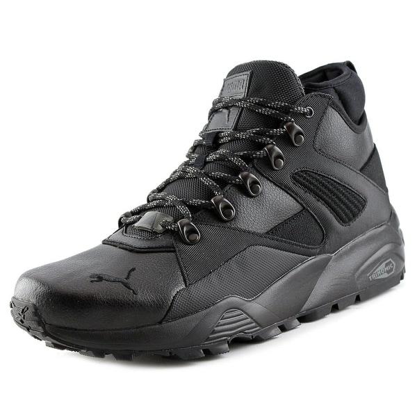 Puma B.O.G Sock Explosive Men Round Toe Leather Black Work Boot