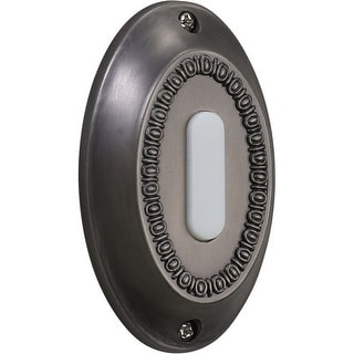 Quorum International 7-307 Basic Lighted Oval Surface Mount Button