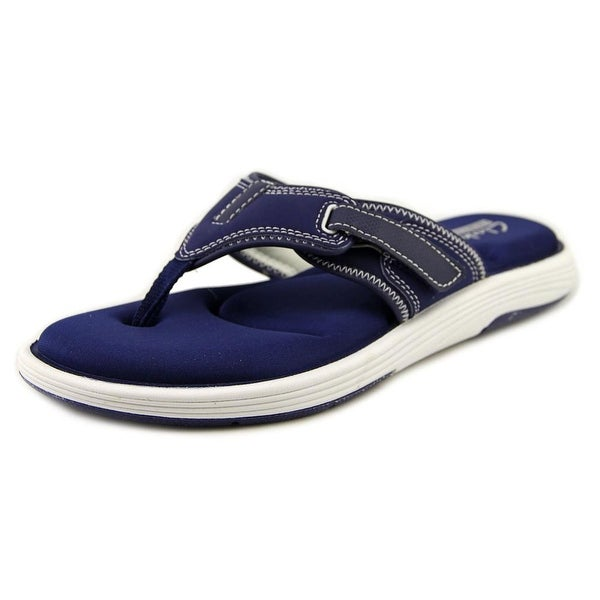 313523e78e912 Shop Clarks Narrative Olina Park Women Navy Blue Sandals - Free ...