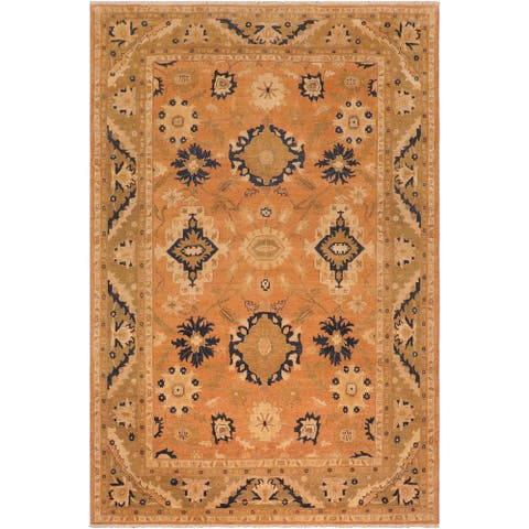 """Boho Chic Ziegler Samira Hand Knotted Area Rug -8'3"""" x 10'4"""" - 8 ft. 3 in. X 10 ft. 4 in."""