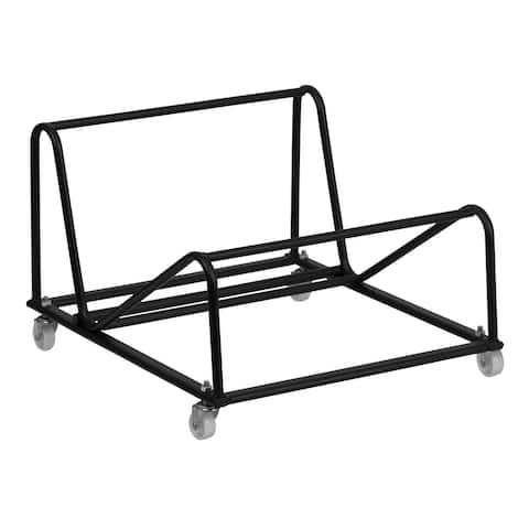 Sled Base Stack Chair Dolly with Steel Frame - Maintenance Truck